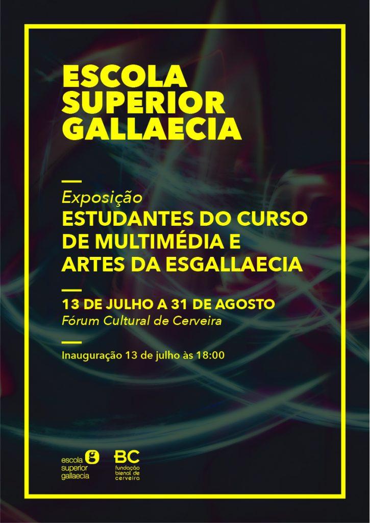Cartaz Exposição Multimédia e Artes