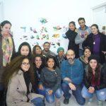 Workshop de desenho, ESSTED, Tunis, Tunísia