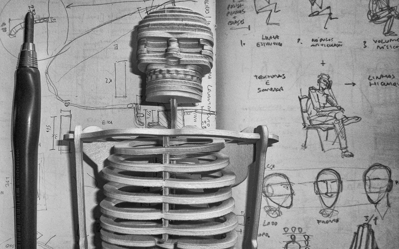 Curso de Desenho - Introdução à Representação da Figura Humana